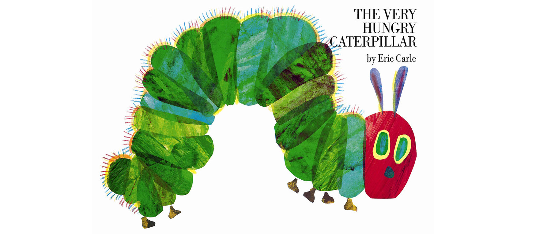 The Very Hungry Caterpillar read by Eric Carle ... |Hungry Caterpillar Book